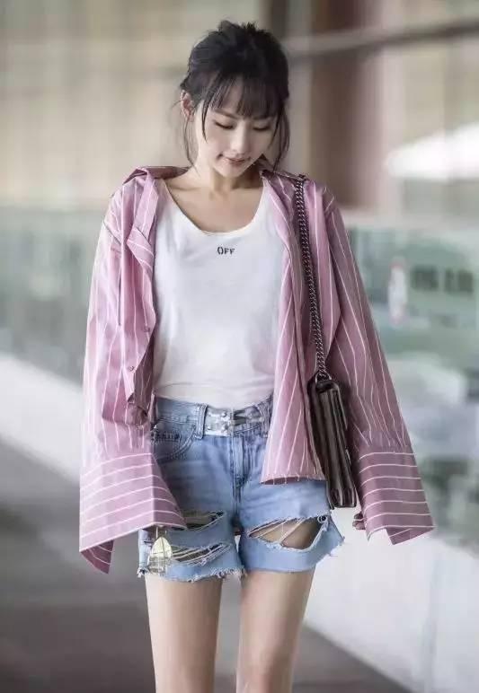 衬衫+短裤=高瘦美的夏天!