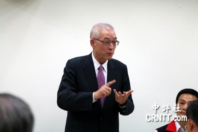 国民党主席当选人吴敦义(图片来源:中评社)