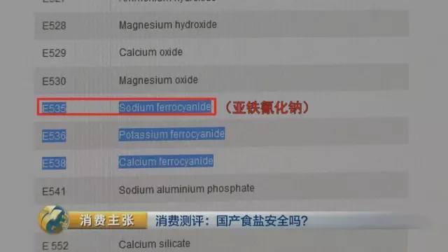 """国产食盐""""添加剂""""堪比砒霜?央视深度揭秘的照片 - 33"""