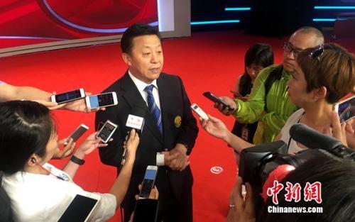 资料图:杜兆才。中新网记者王牧青摄