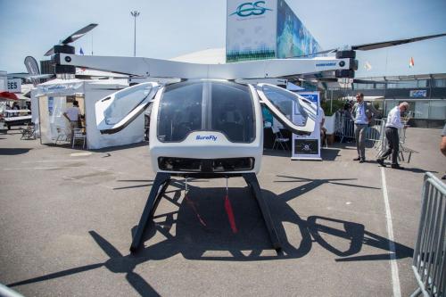 这款私人直升机能像无人机一样飞