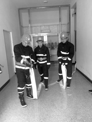 铁岭市首个住宅小区微型消防站投入使用