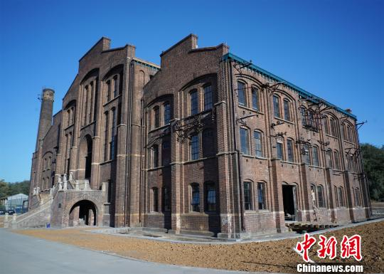 22日,记者在位于秦皇岛市海港区东港路60号院内的秦皇岛电力博物馆