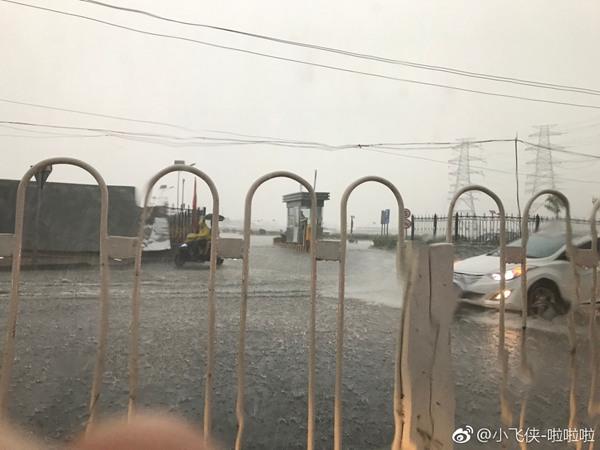 北京今天有暴雨气温下降上午11点开始雨势明显