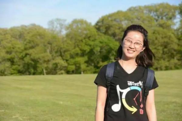 在美失踪的中国访问学者章莹颖。(资料图来源:《赫芬顿邮报》网站)