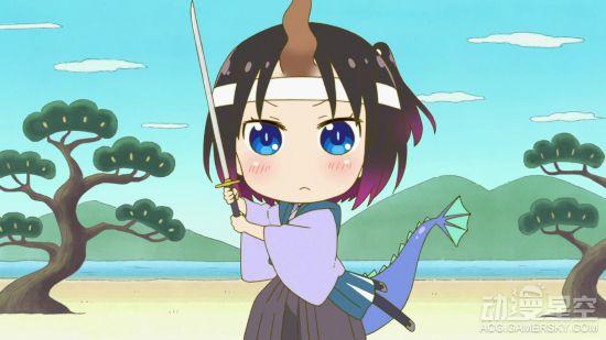 《小林家的妹抖龙》bd4特典动画 变身中国娘打太极