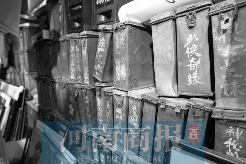 孙风辰收藏的电影胶片