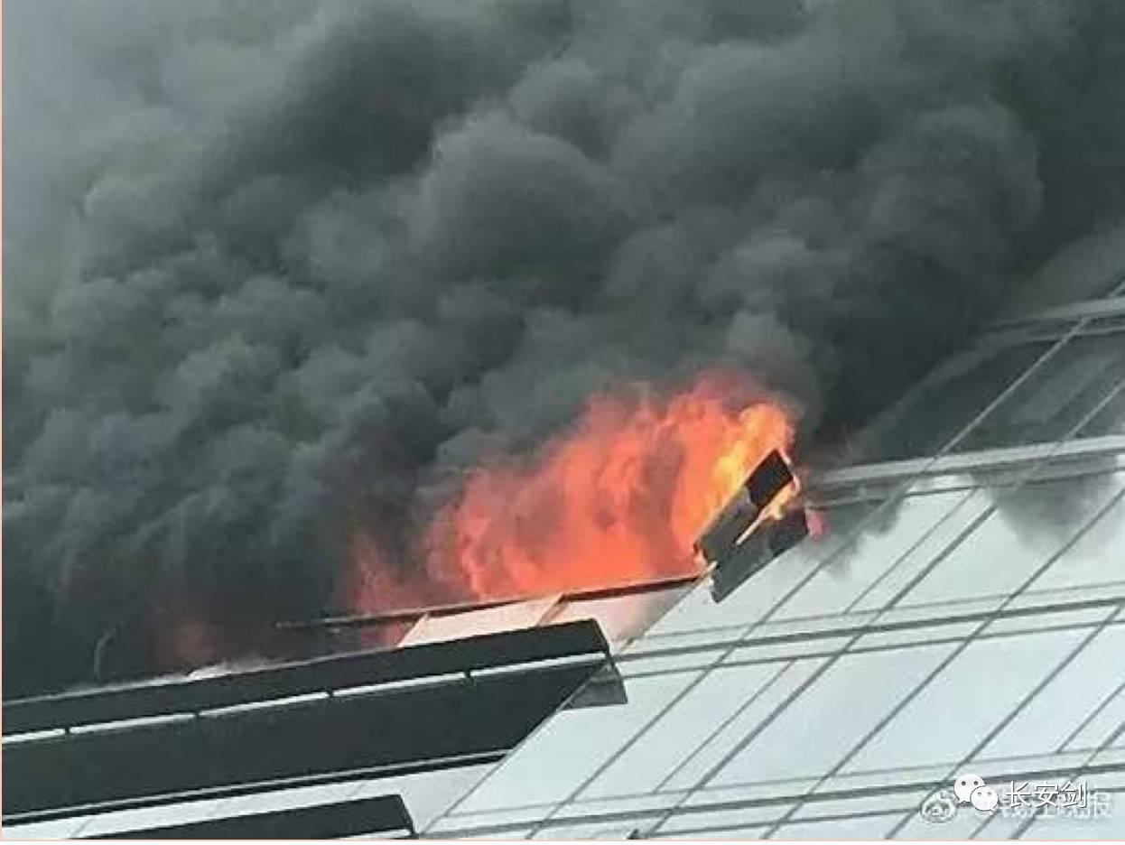 (图:杭州保姆纵火案火灾现场。)