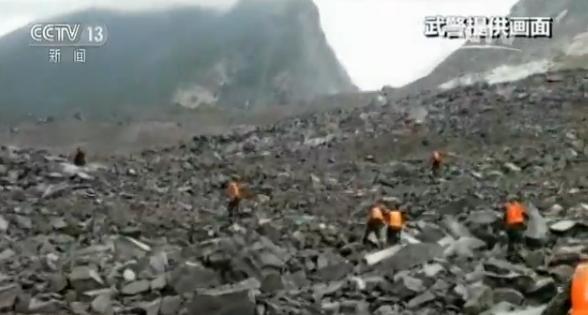 四川阿坝茂县发生山体垮塌:致46户农房被埋141人失联 多方力量已赶赴现场救援