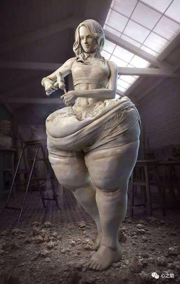 每个女人都用心雕刻自己的身材