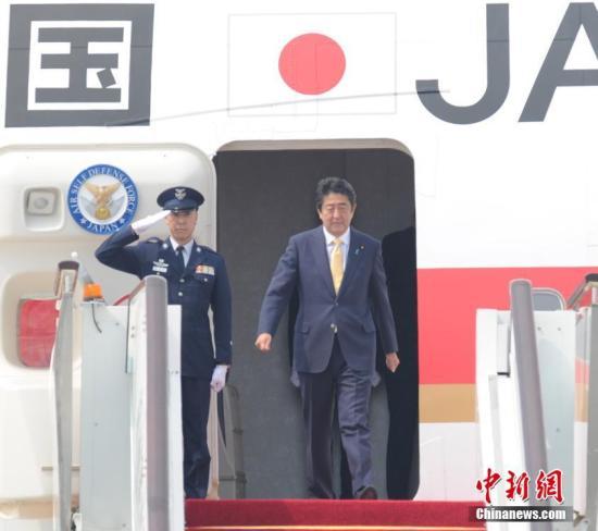 日本首相安倍晋三。 中新社记者 张茵 摄