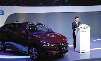 东风裕隆去年推出的入门级车型纳智捷锐3,今年5月的销量也仅有59辆。企业供图