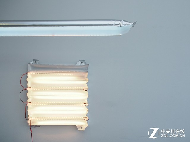 万万没想到!充气式的家用LED灯你见过吗?