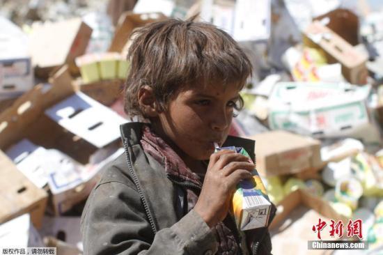 也门霍乱致1400人身亡20余万人疑似感染