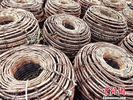 捕捞工具。浙江省海洋与渔业局供图