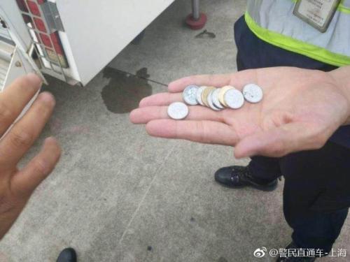 图片来源:上海市公安局官方微博。