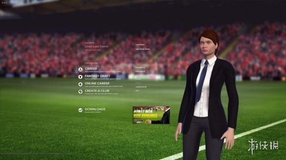 模拟经营类SIM《足球经理2017》免DVD光盘版发布!倪发科背景