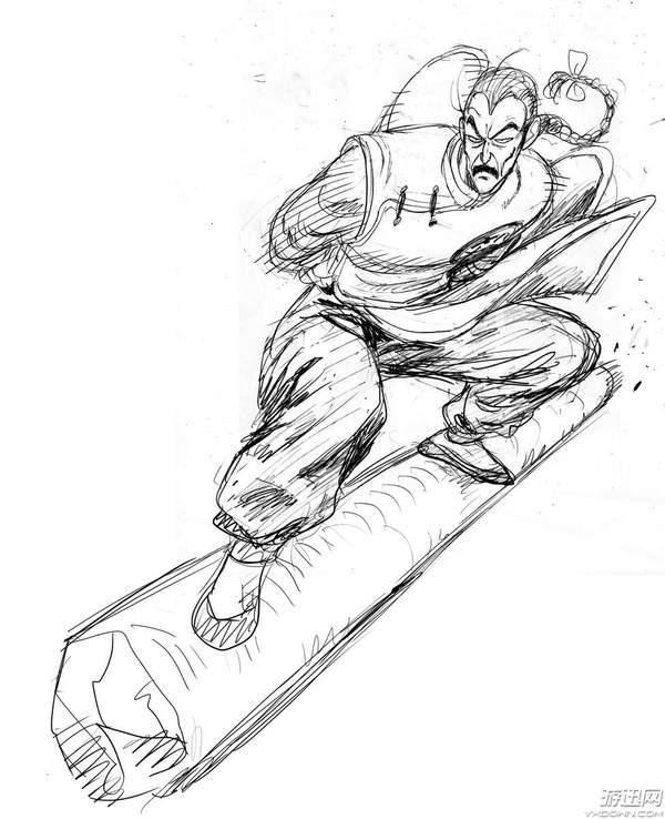 《一拳超人》漫画作者手绘《龙珠》同人图 悟空帅炸!