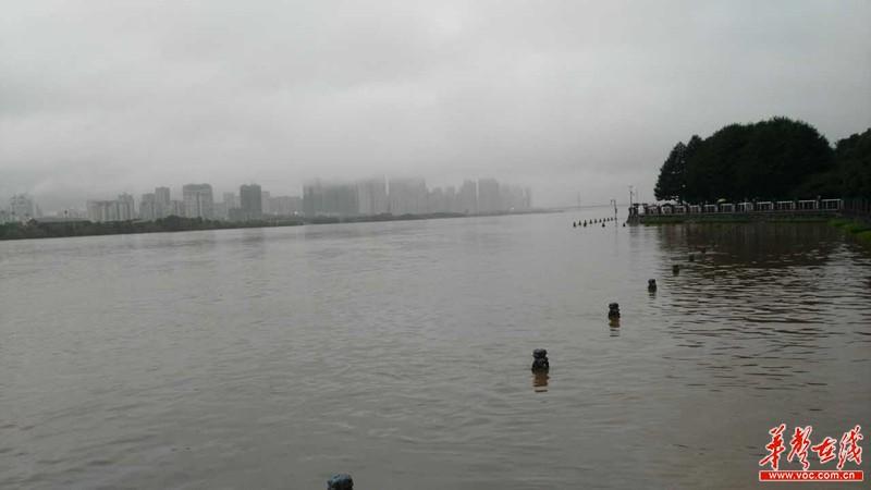 暴雨致多条河流超超保证水位 长沙市积极部署全力迎战