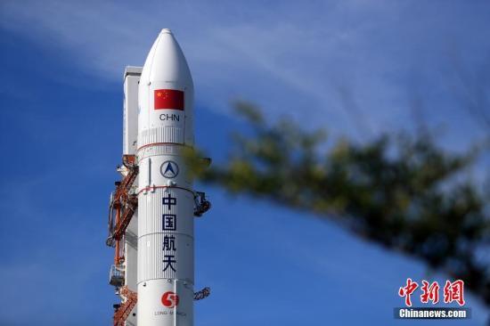 资料图:图为长征五号遥二运载火箭。张文军 摄