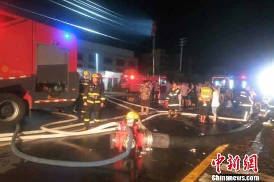 浙江金华工厂火灾过火面积1500平方米 目击者讲述