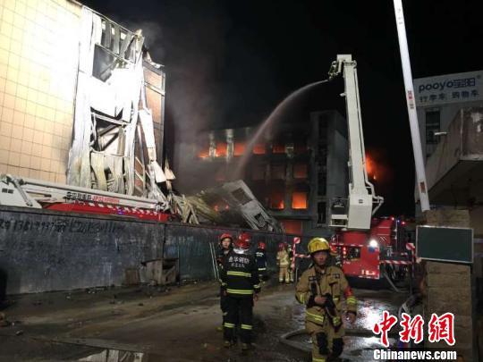 浙江金华金东发生一起火灾 109人已联系到107人