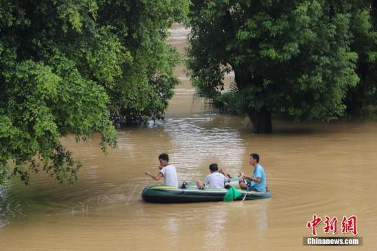 12省份将迎新一轮强降雨过程 国家防总提前部