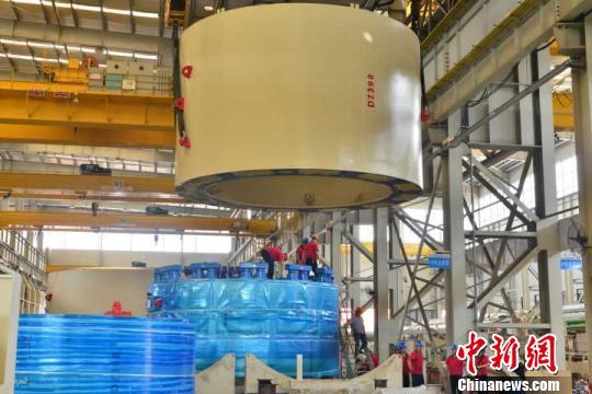 中国国产地铁盾构机出口俄罗斯 首入欧洲市场