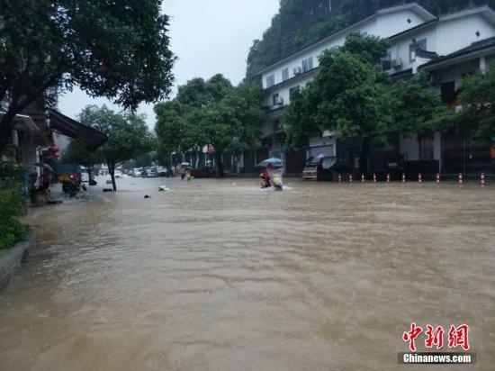 材料图:大水灾情。赵琳露 摄