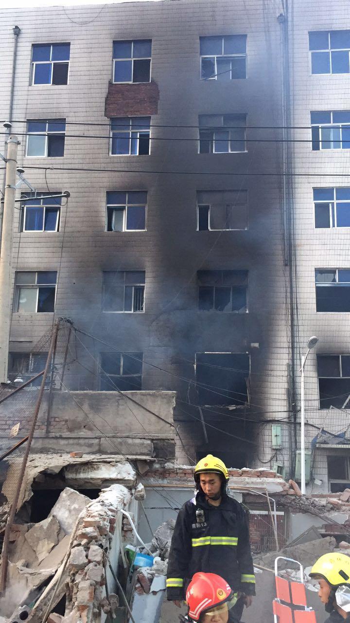 吉林松原燃气管爆炸事故致5人遇难87人住院(图)