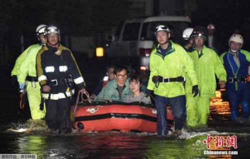 九州地区暴雨天气持续 日本气象厅发布特别警报