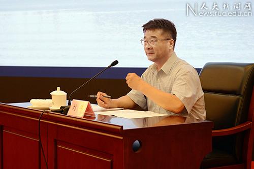 靳诺书记出席高等教育国际论坛并作主旨发言