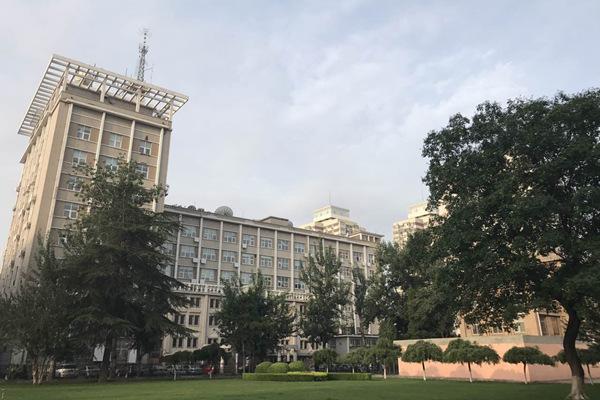 今晨,北京天空略显阴森。