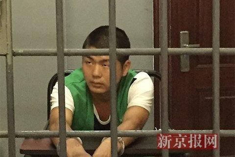 7月10日,湖南沅陵县看守所,姚常凤冷静讲述自己作案情形。新京报记者安钟汝 摄