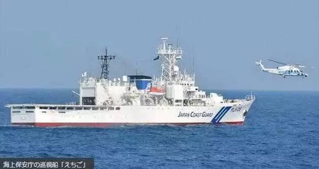 """▲日本海上保安厅""""越后""""号巡查船(独特社)"""