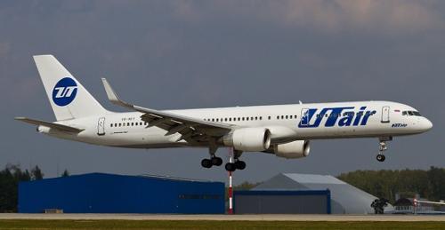 Utair航空公司飞机(资料图)