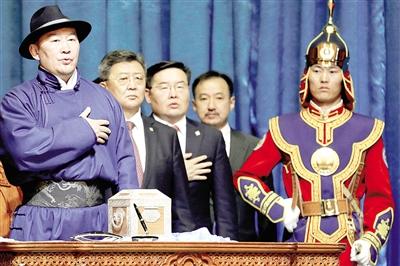 蒙古国新总统将致力让人民尽快脱贫