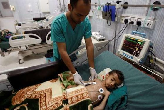 也门霍乱疫情持续 死亡人数升至1742人
