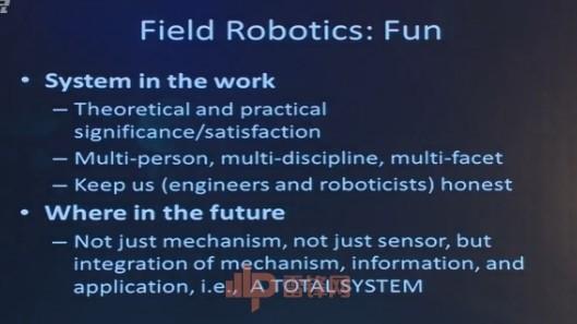卡耐基·梅隆大学教授金出武雄:对户外机器人三十年来的探索|CCF-GAIR 2017