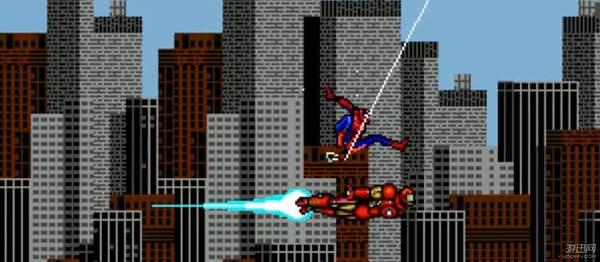 饭制《蜘蛛侠:归来》像素版预告 重
