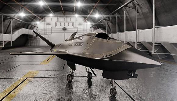 美国空军的最新型无人机是一种具备隐形功能的小型战斗机,并且低廉的造价使其完全可以成为一种一次性机型。这种低成本耐消耗飞机(Low-Cost Attritable Aircraft,简称LCAA)能够彻底改变目前主导世界空军的空战方式。 在一年一度的国防部实验室日,美国国防部揭开了第一架LCAA样机的神秘面纱,官方高度强调了多方军事研究机构所做出的贡献努力。这是一种棱角分明喷气式无人机,飞机上的银制喷漆配件具有吸收雷达波的功能。 美国空军希望LCAA在舱内有效负载500磅(约230公斤)的同时,最高速