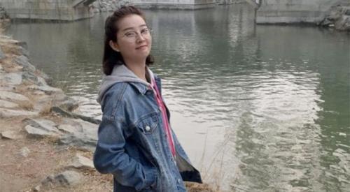 资料图片:失踪中国访问学者章莹颖。(图片来源:美联社)