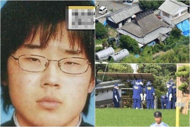 图为犯罪嫌疑人及案发住宅(图片来源:东网)