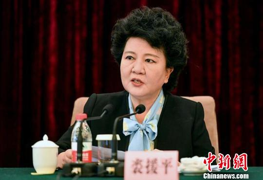 国务院侨办主任裘援平出席会议并发表讲话。 刘新 摄