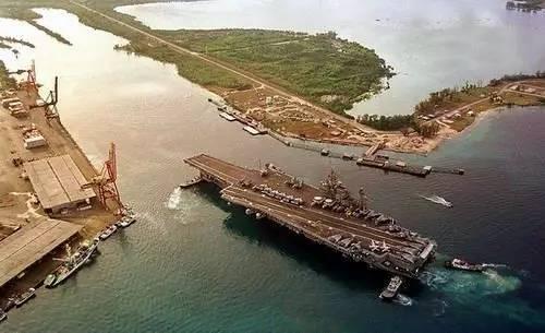 ▲美国太平洋司令部辖内的关岛美军基地