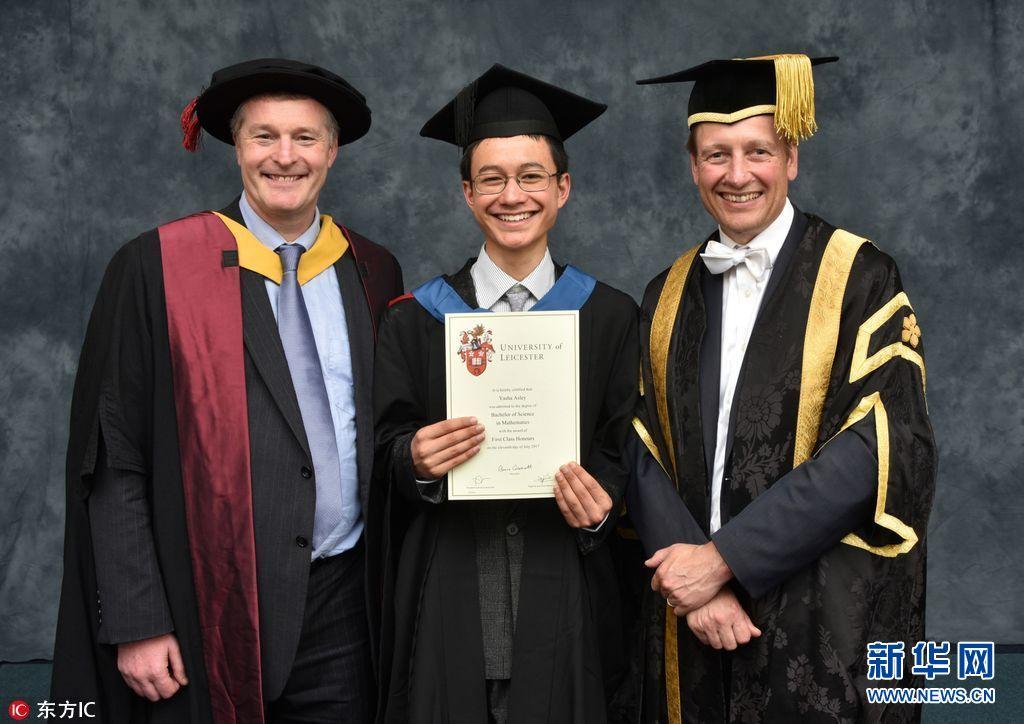英15岁少年大学毕业成英国最年轻的大学毕业生 数学 大学毕业生