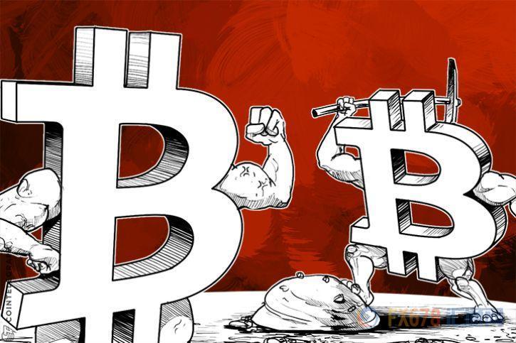 """比特币持续反弹 """"市场分裂""""警报暂时获解除"""