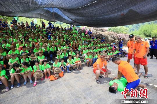 2017年全国青少年户外营地夏令营