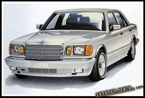money or nothing:那些关于奔驰w126的另类回忆