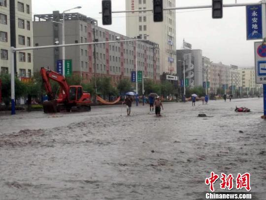 永吉县七天内两度遭遇洪水 苍雁 摄